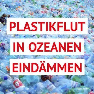 """""""Saubere Ozeane statt Meere voller Plastik"""" Parlament sagt Wegwerfprodukten den Kampf an"""