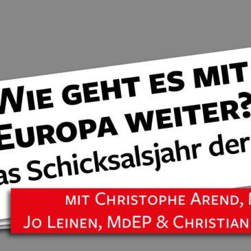 Wie geht es weiter mit Europa?