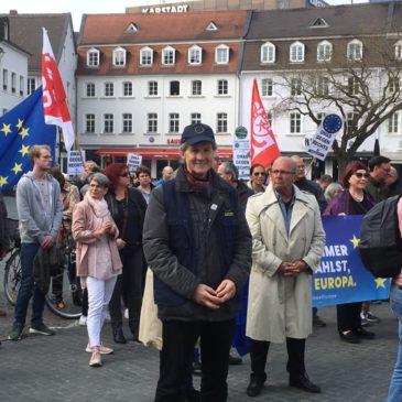 """""""Flagge zeigen für Europa"""""""