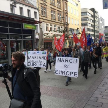 March for Europe – Saarbrücken